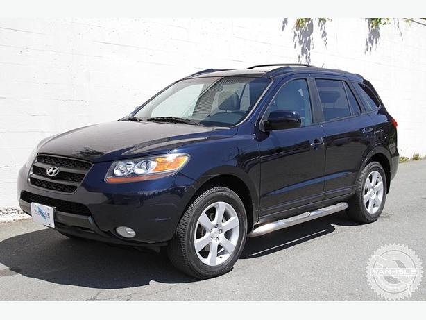 2007 hyundai santa fe 6 month warranty leather heated seats outside comox valley courtenay comox. Black Bedroom Furniture Sets. Home Design Ideas