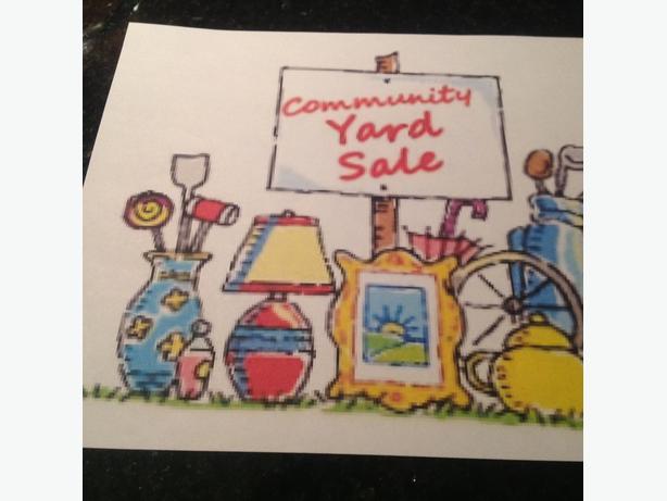 Community garage sale june 18th 1681 laurelwood for Garage ad orleans