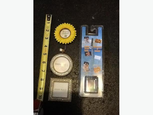 New Anne Klein small picture frames, Sunflower and Picture holder
