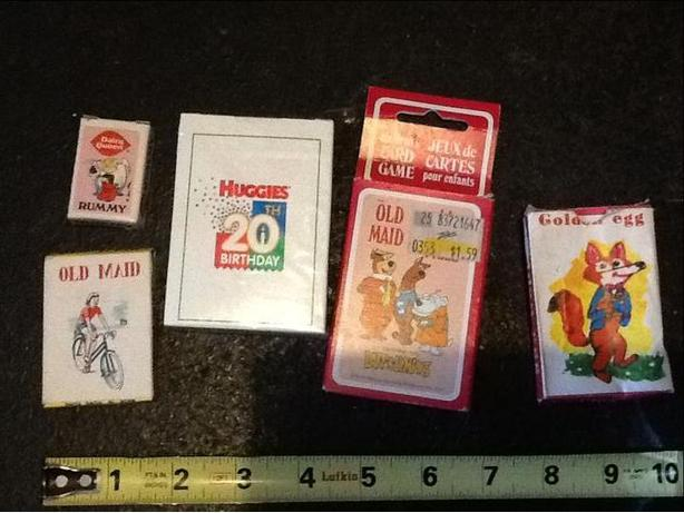 Rummy, Old Maid, New Cards, Scooby Doo Old Maid & Golden Egg Card Games