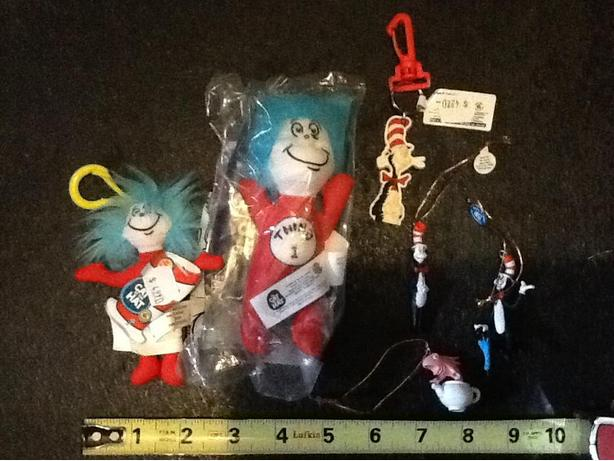 Grab bag of new Cat in the Hat: Thing, Cat and One Fish