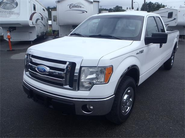 2009 ford f 150 xlt supercab long bed 4wd burnaby incl. Black Bedroom Furniture Sets. Home Design Ideas