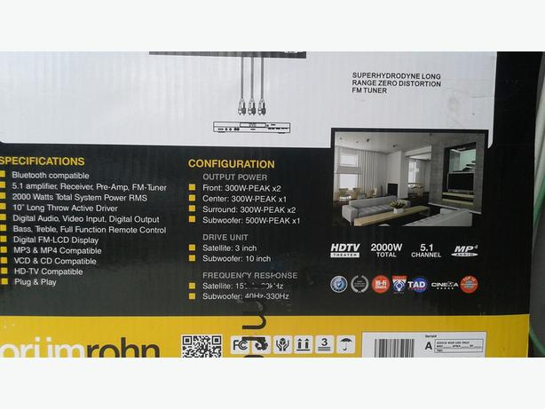Orumrohn Bluetooth Home Theatre system
