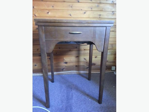 singer sewing machine table for sale