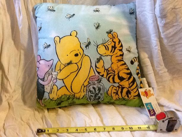 Winnie the Pooh, Piglet and Tigger Toss Pillow
