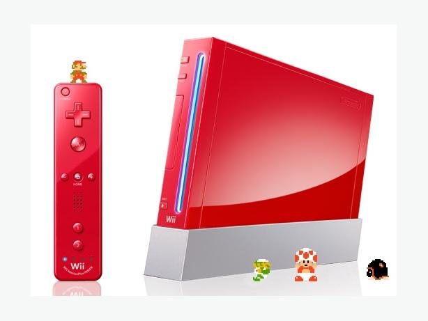 Mint Shape Red Wii