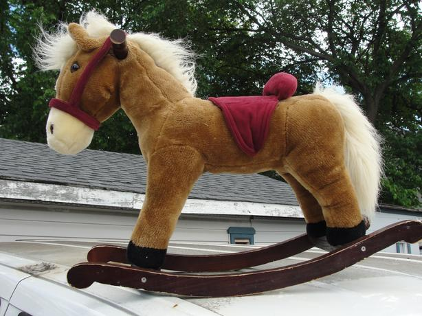 Toddler size rocking horse