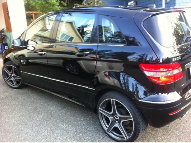 2008 Mercedes B200 Turbo for sale