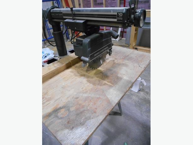 Craftsman Radial Armsaw