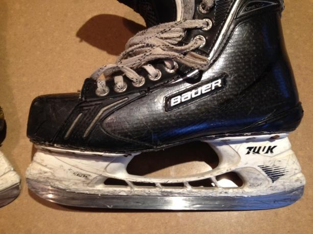 Blades for hockey skates