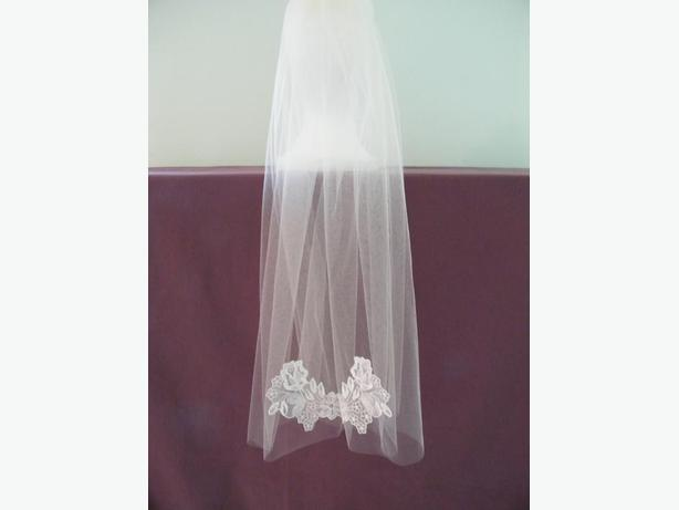 IVORY WEDDING VEIL