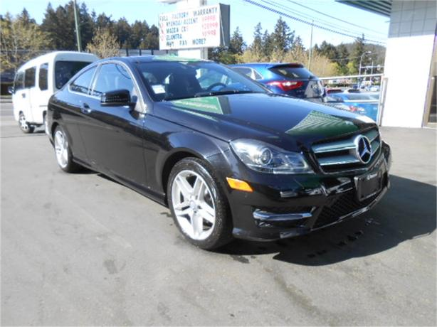 2013 mercedes benz c250 c250 coupe 1 8t nav west shore langford colwood metchosin highlands. Black Bedroom Furniture Sets. Home Design Ideas