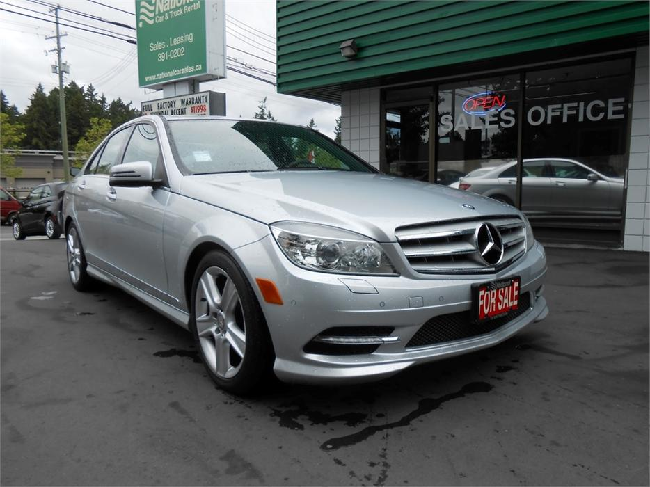 2011 mercedes benz c300 4matic outside cowichan valley for Used mercedes benz c300 4matic for sale