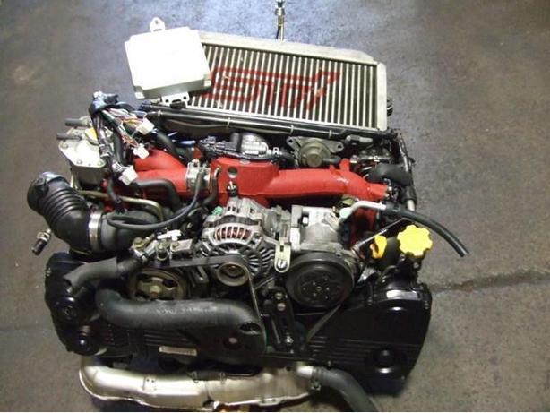JDM SUBARU WRX STI EJ20 TURBO VERSION 8 ENGINE TRANSMISSION