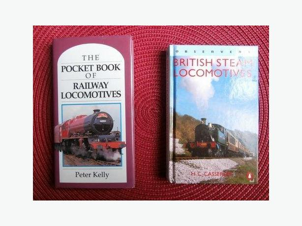 Pocket Book of Rail Locomotives & British Steam Locomotives