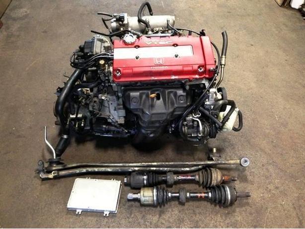 jdm b18c type-r engine mt lsd transmission honda acura dc2 1996+