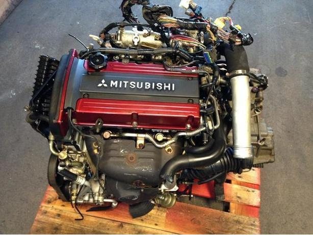 JDM MITSUBISHI EVOLUTION 8 4G63-T 2.0L ENGINE MT TRANSMISSION