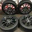 MUGEN NR 17X7.0JJ OFFSET +53 5X114.3 MAGS WITH TIRES JDM USA TOKYO MOTOR