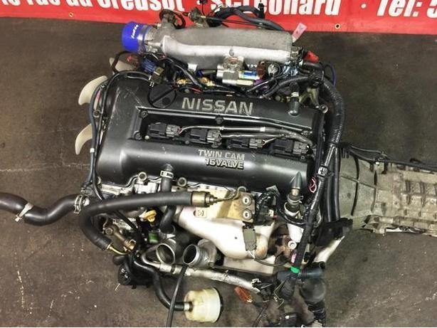 JDM NISSAN SR20DET S15 MOTOR BLACK TOP MT S14 TRANSMISSION ECU