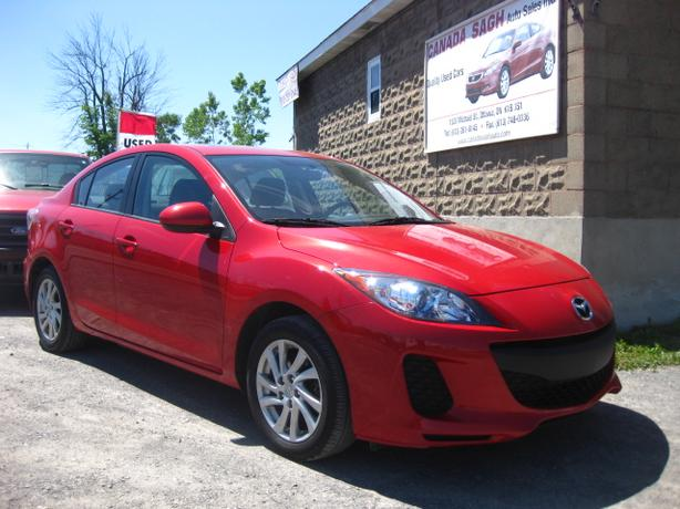 2012 Mazda3 (SKY-ACTIVE) LOADED AUTO, 12M.WRTY+SAFETY $9500