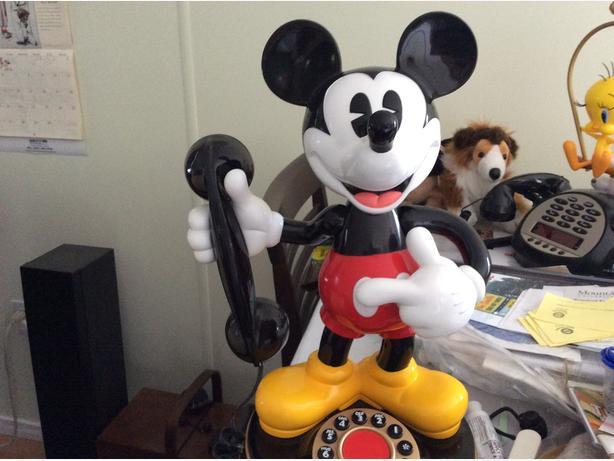 Mickey Talking Phone