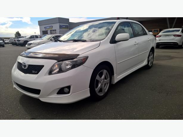 2009 toyota corolla xrs campbell river comox valley. Black Bedroom Furniture Sets. Home Design Ideas