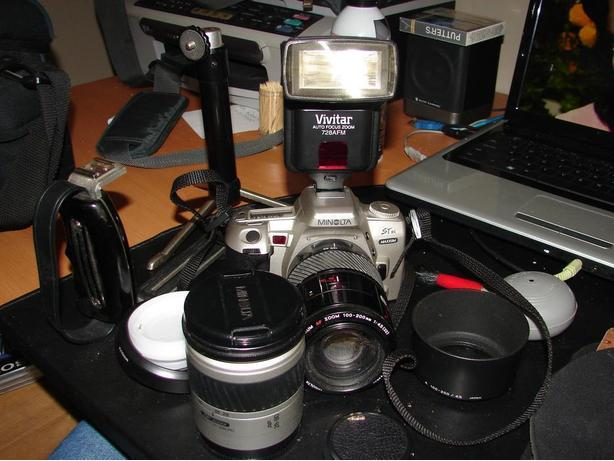 35mm SLR Camera and extras