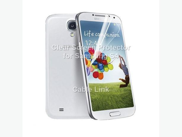 Clear Screen Protector for Samsung Galaxy S4 I9500