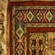 4U2C HAND KNOTTED WOVEN PRAYER RUG 36 by 64 inches CARPET
