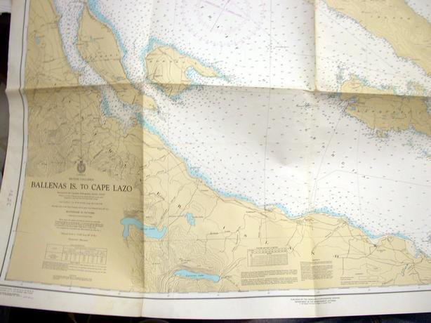 Ballenas Isl. to Cape Lazo Chart
