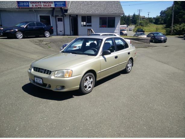 2001 Hyundai Accent GL (Stock 2808)