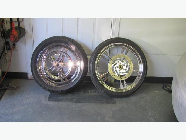 Performance Machine mags wheel for HD Softail 2006 and up.