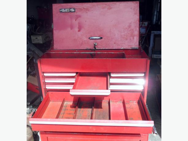 Vintage Snap On 2 Piece Tool Chest
