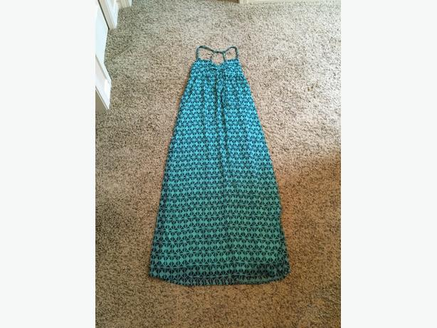 Blue Roxy maxi dress