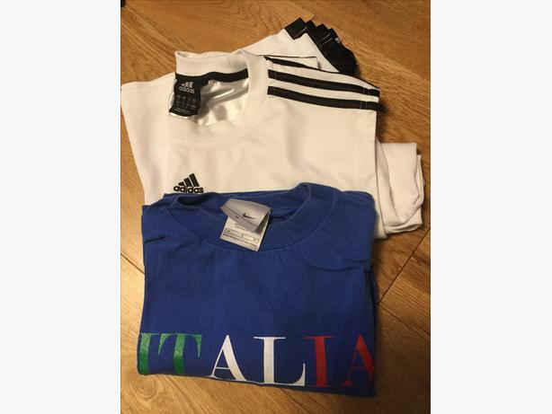 Adidas and Nike Shirts