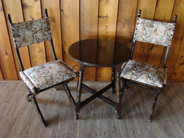 Three Piece Table Set