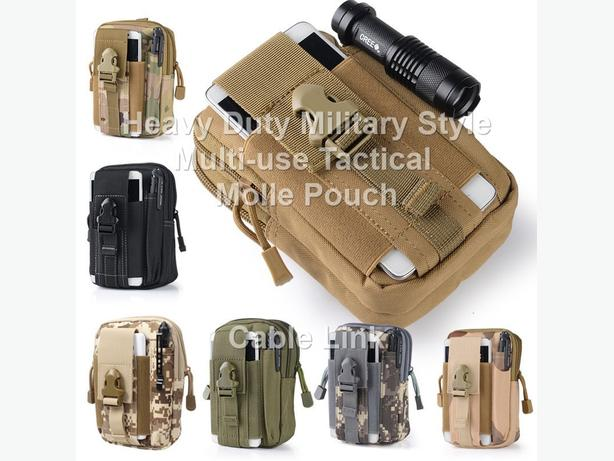 Heavy Duty Military Style Multi-use Tactical Molle Pouch
