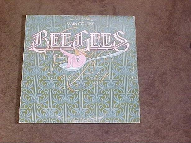 BEE GEES MAIN COURSE VINYL LP