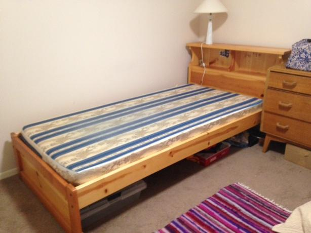 Solid Pine Extra Long Single Bed