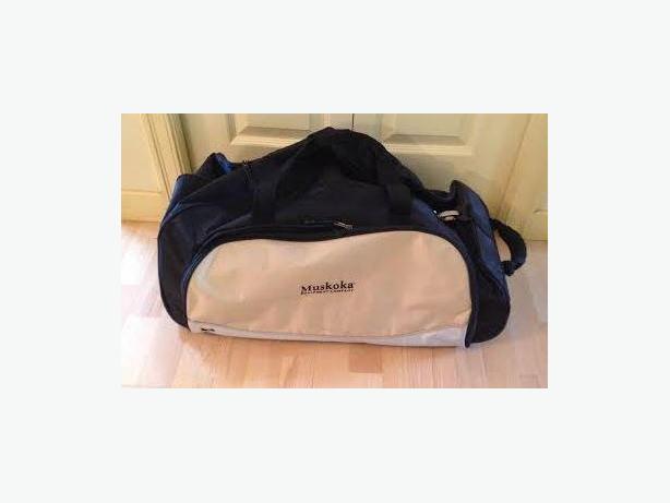 "Muskoka Equipment Company 25"" 2 Wheel Duffel and Backpack"
