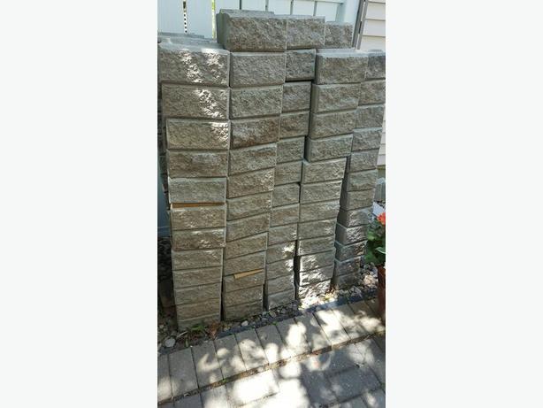 Wall concrete blocks