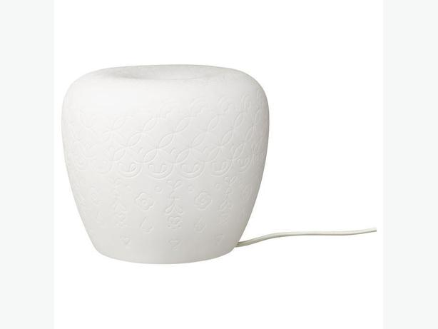Ikea LITER Table Lamp - White