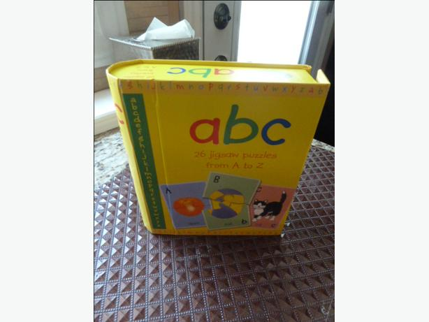 ABC 26 Picture Puzzles from A to Z