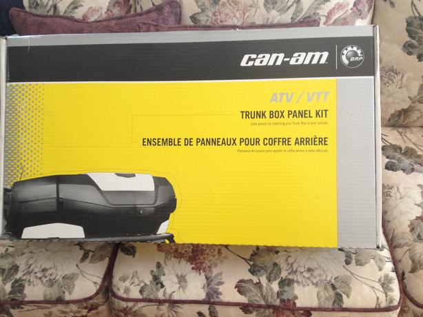 Can-Am Trunk Box Panel Kit