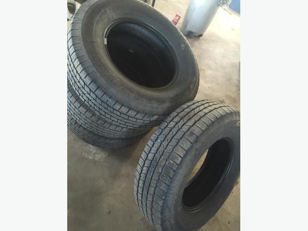 265/70/17 TIRES GOODYER