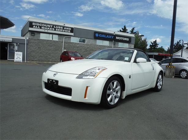 2005 nissan 350z roadster coupe convertible 6spd manual west shore rh usedvictoria com Nissan 350Z Enthusiast Nissan 350Z Touring