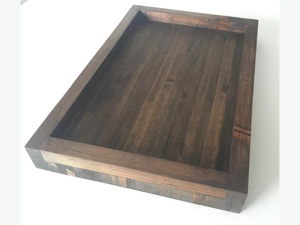 Hand made wood trays