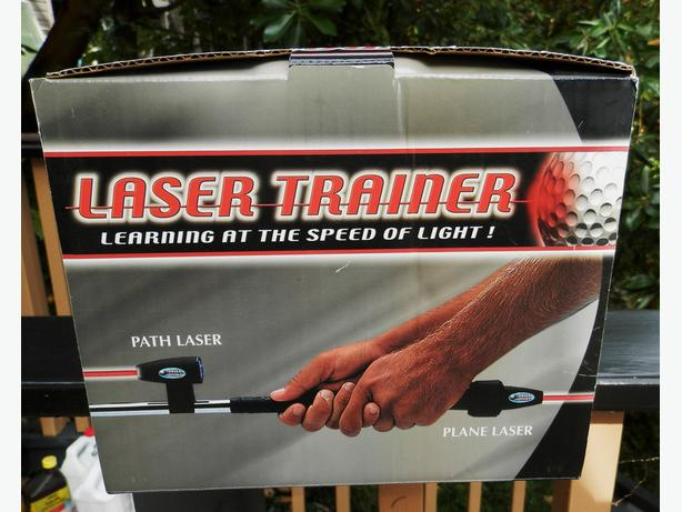 LASER GOLF SWING TRAINER NEW