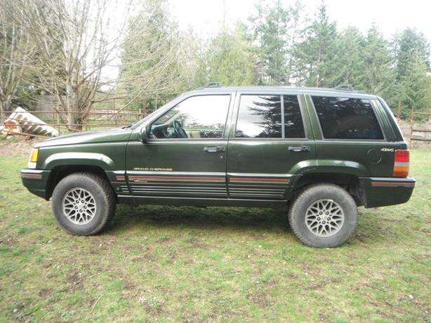 1995 Jeep Grand Cherokee Orvis Edition