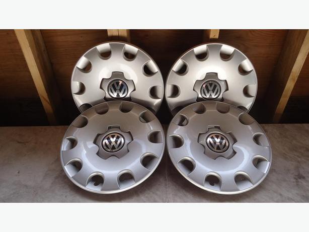 "Set of 4 VW Hubcaps - 15"""